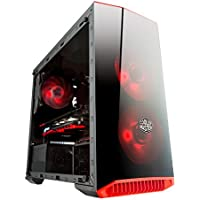 Centaurus Scorpius - Intel Coffee Lake i5 8400 3.8GHz TB Six Core, 16GB RAM DDR4, Nvidia GTX 1060 6GB, 120GB SSD + 2TB HDD, Windows 10, WiFi. Fast Gaming PC + 3 Year Warranty. Tempered Glass!