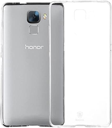 REY Funda Carcasa Gel Transparente para Huawei Honor 7 Ultra Fina ...