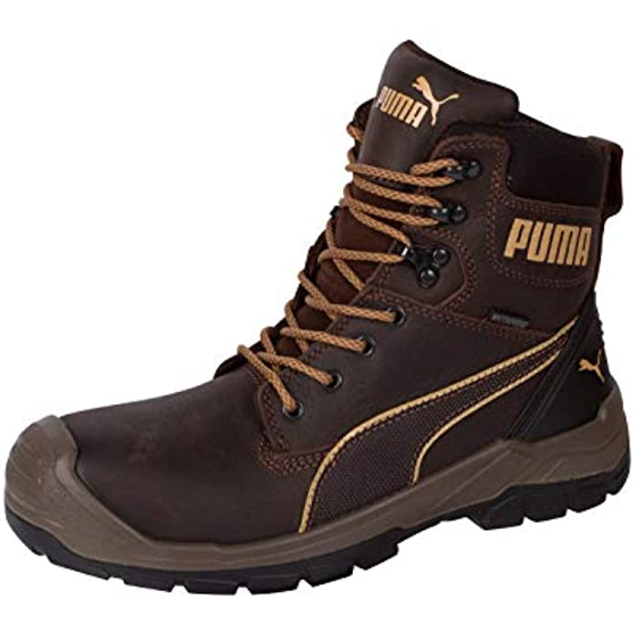PUMA Men's Safety, Conquest 7 Inch CTX Waterproof Boot