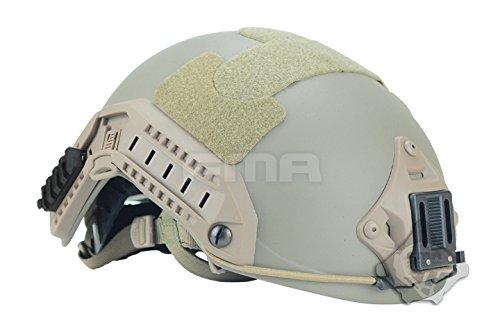ATAIRSOFT Adjustable Maritime KEVLAR Aramid Protective Helmet DE Tan L/XL by ATAIRSOFT