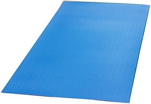 養生敷板 ダイヤボード(RP) ブルー 900ミリ幅×1800ミリ長(10枚入) (1.5ミリ厚)