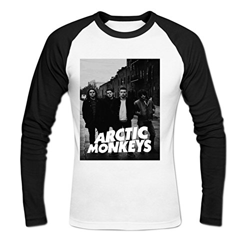 Delma Salinas Artic monkeys Men's Cotton T-shirt XL White (Artics Monkeys Shirt)