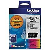 Brother - LC20E3PKS XXL 3-pack Super High Yield Ink Cartridges