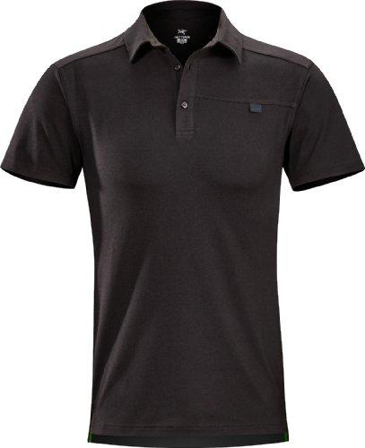 ARC'TERYX Men's Captive Polo Black - Black Shirts Ss