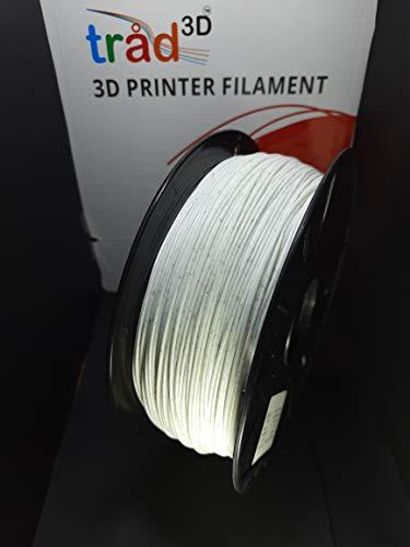 Tråd3D 1.75mm PLA 3D Printer Filament for 3D Bazaar Creality Ender 3 3D Printer Aluminium DIY with Resume Print (Marble)