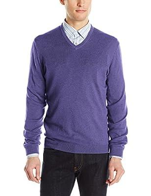 Calvin Klein Men's Modal Solid V-Neck Sweater