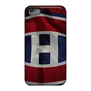 Shock Absorption Hard Phone Case For Apple Iphone 6 (UPI21055nSgn) Support Personal Customs Fashion Montreal Canadiens Pictures