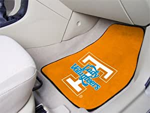 "Brand New Tennessee 2-piece Carpeted Car Mats 18""x27"""