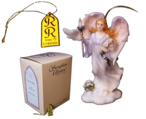 Iwgac Home Indoor Seasonal Decorative Accessories Holiday Gifts Roman Seraphim Angel Ornament Gina