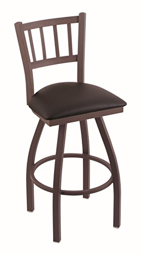 41NgCtJhikL - Holland-Bar-Stool-Co-810-Contessa-25-Counter-Stool-with-Bronze-Finish-and-Swivel-Seat-Allante-Espresso