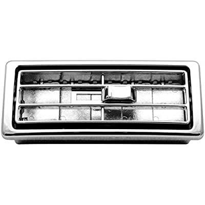 Woody's WP-DP462 Chrome Kenworth Vent: Automotive