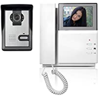 "Video Doorbell Phone, YOKKAO Video Intercom Monitor 4.3"" Door Phone Home Security Color TFT LCD HD Wired for House Office Apartment"