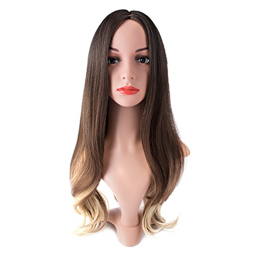 MelodySusie-Black-Long-Curly-Wig–Charming-Long-Curly-Wig-with-Heat-Resistant-Fiber-for-Women-Daily-Use-Black