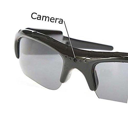 Coffs Spy gafas de sol 4 en 1 reproductor de mp3 Mini cámara DVR videocámara grabadora de vídeo apoyo Micro tarjeta SD ub-339d: Amazon.es: Bebé