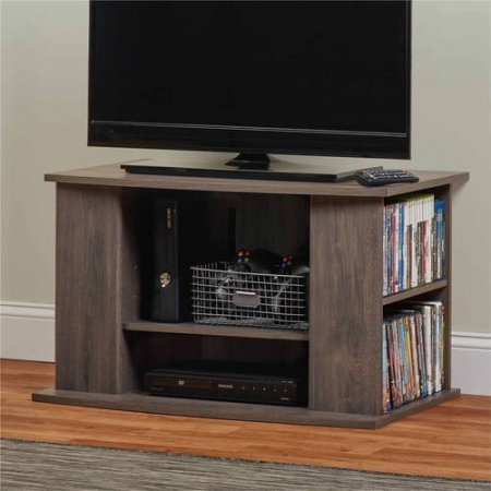 Amazon Com Elegant Tv Stand With Side Storage For Tvs Up To 32