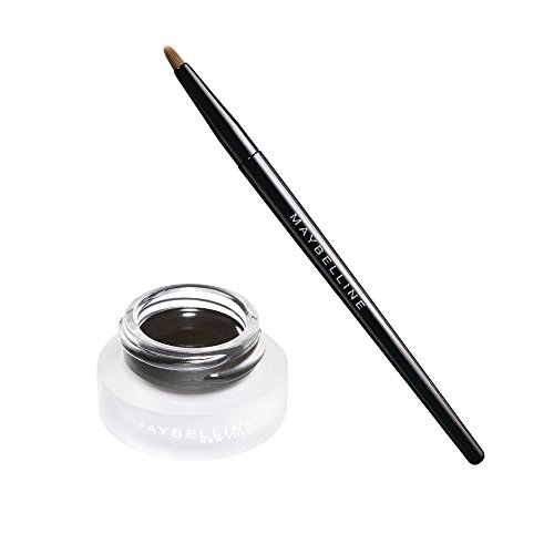 Maybelline New York Eyestudio Lasting Drama 24H Gel Eyeliner, Black, 1er Pack (1 x 3 g)