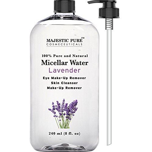 Majestic-Pure-Makeup-Remover-for-Eye-and-Face-Skin-Cleanser-Lavender-Micellar-Water-8-Fluid-Ounce