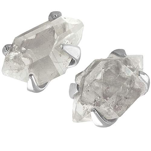 Starborn Herkimer Diamond Sterling Silver Post Earrings