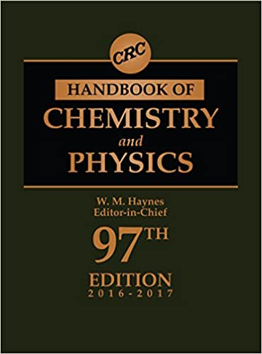 Crc Handbook Of Chemistry And Physics Ebook