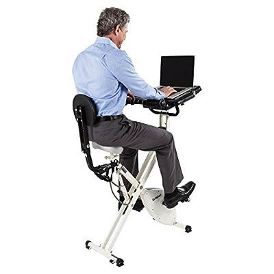 FitDesk Desk Exercise Bike with Massage Bar from Revo Innovations