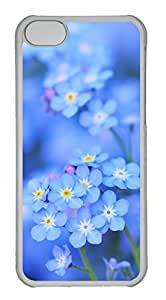 Customized iphone 5C PC Transparent Case - Beauty Flowers Cover by Maris's Diary