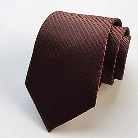 LFLJIE Nuevos Accesorios de Moda Corbata 8cm Corbatas de Hombre ...