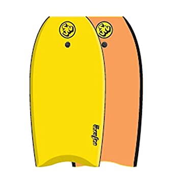 SURF & SUN Bodyboard Similar EPS 42 - Jaune et orange fluo