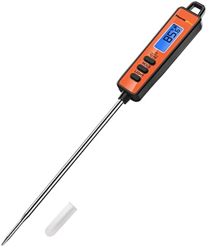 ThermoPro TP01A Instant Read Meat Thermometer with Long Probe Digital Food Cooking Thermometer for G