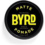 BYRD Hair Matte Pomade Mens Medium Hold/ Low Sheen, 3 OZ