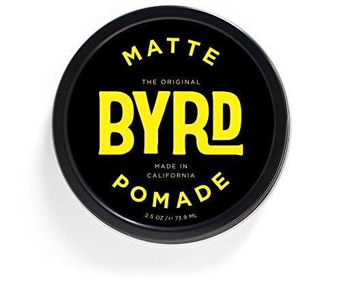 Pomade Matte (BYRD Matte Pomade - Medium Hold, Matte Finish | Paraben Free, Sulfate Free, Phthalates Free | 3oz)