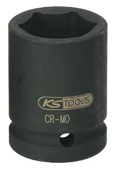 KS Tools 515.1330 3/4' Sechskant-Kraft-Stecknuss, kurz, 30mm KS-Tools Werkzeuge-Maschine