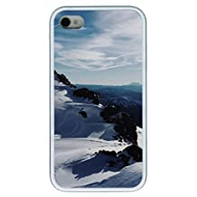 case mate iphone 4S covers landscapes nature snow 14 TPU White for Apple iPhone 4/4S by supermalls
