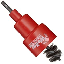 Weiler Turbo Tube Brush, Stainless Steel...
