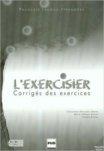 Livre L'Exercisier : Corrigés des exercices epub pdf