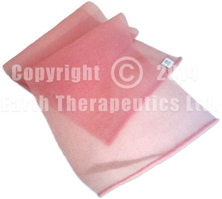 Earth Therapeutics Exfoliating Hydro Towel: Pink NEW! ()