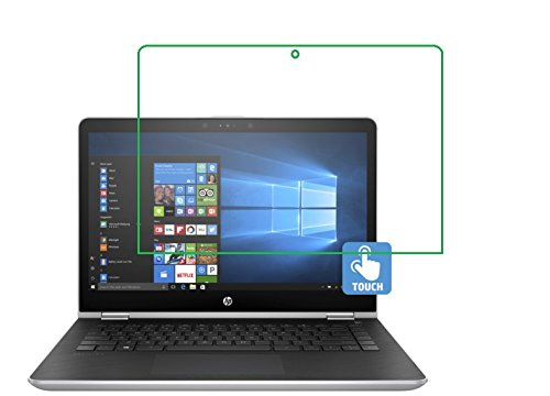 It3 Anti Glare (2X Pcs) Screen Protector Guard for 14.0'' HP Pavilion x360 Convertible Laptop 14t Touch by it3