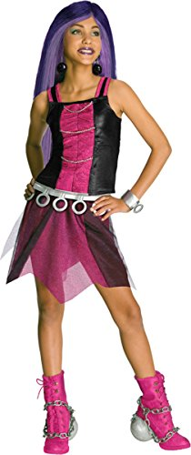 [Rubie's Big Girl's Monster High Spectra Vondergeist Chid Costume Medium] (Spectra Vondergeist Girls Costumes)