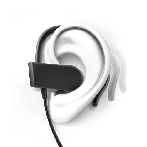 photive ph bte70 wireless bluetooth earbuds sweatproof secure fit headphones for running gym. Black Bedroom Furniture Sets. Home Design Ideas