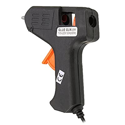 20W Mini Electric Heating Hot Melt Glue Gun Professional Tool for Hobby Craft DIY US Plug