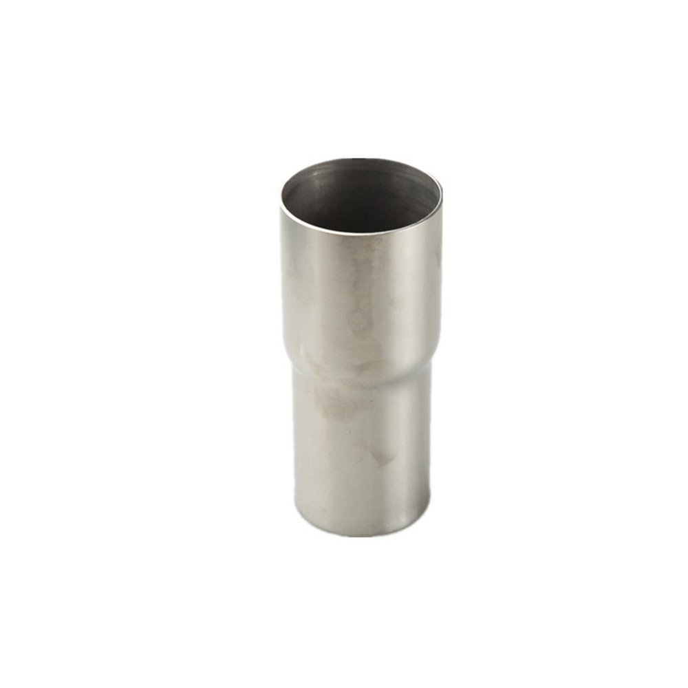 Universal 2.25 OD To 2.5 OD Exhaust Pipe Adapter Connector Reducer Stainless Steel