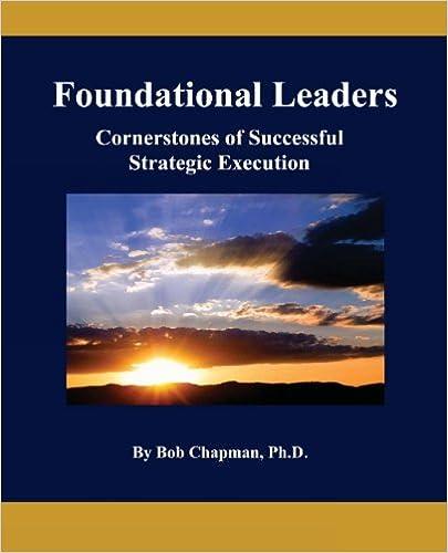 Foundational Leaders: Cornerstones of Successful Strategic Execution