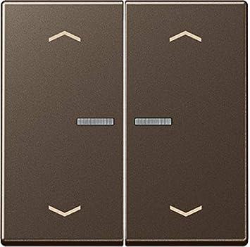 Jung Interruptor para Circuito en Serie y Doble pulsador con luz Escalera y símbolos Serie A Moca, 1 Pieza, a 595 ko5mp Mo: Amazon.es: Bricolaje y herramientas