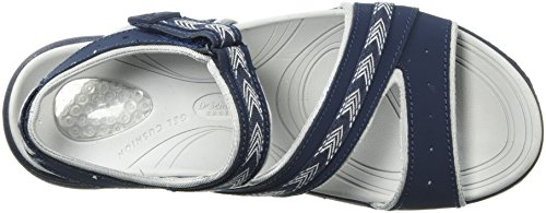 Shoes Action Dr Scholl's Slide Leather Daydream Sandal Women's Navy 5xwB0vqHgw