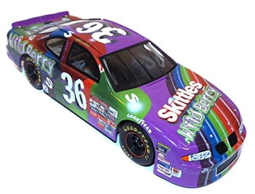 1998 Revell NASCAR #36 Ernie Irvan Skittles Pontiac 1:24 Model Race Car