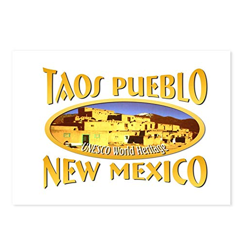 CafePress Taos New Mexico Postcards (Package of 8), 6