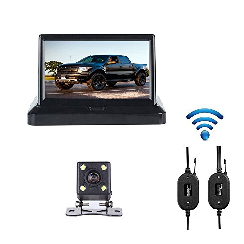 camecho-wireless-car-backup-camera-5-inch-foldable-color-lcd-tft-monitor-mini-size-easy-hidden-camer
