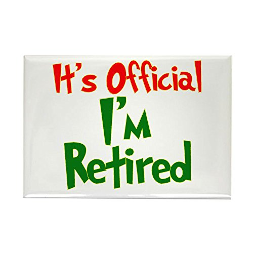 CafePress Retirement Fun! Rectangle Magnet Rectangle Magnet, 2