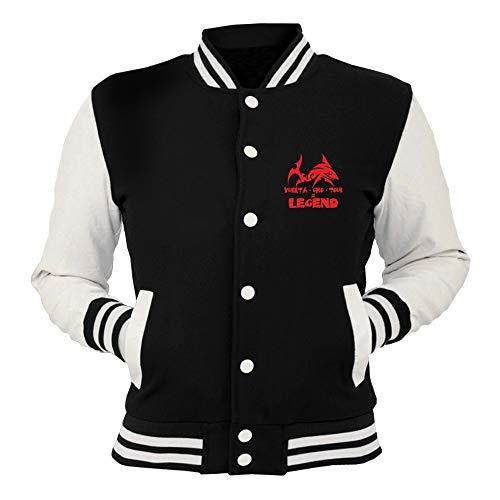shirtshock Geek Nera Lo Cool T Giacca Fun T0834 College Squalo Dello Stretto 7dwBq
