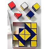 16 Cubos De Kohs Color Blanco Rojo Azul Y Amarillo Industrial Scientific