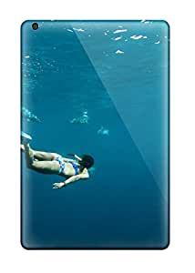 4227506K30525581 Hot Diving With Dolphins Tpu Case Cover Compatible With Ipad Mini 3